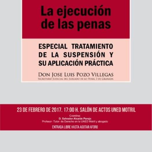 Jornadas: LA EJECUCIÓN DE LAS PENAS
