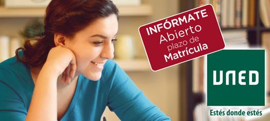 Abierto plazo de matrícula curso 2017/2018