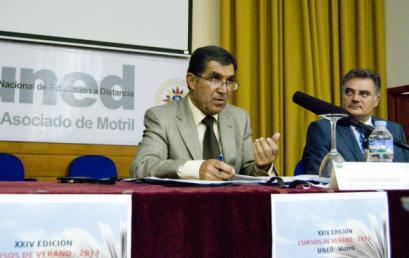 El presidente de TSJA habla de la violencia familiar en el Centro de Motril, donde se examinó por primera vez