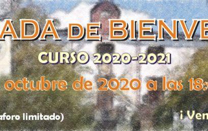 Jornada de Bienvenida a los Estudiantes – Curso 2020-2021