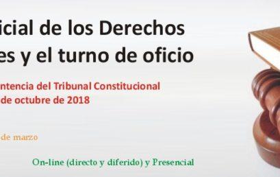 La tutela judicial de los Derechos Fundamentales y el turno de oficio