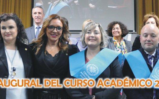 Acto de inauguración del Curso Académico 2019-2020