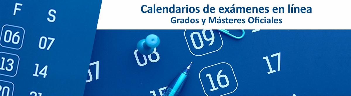 Calendario de exámenes finales en línea