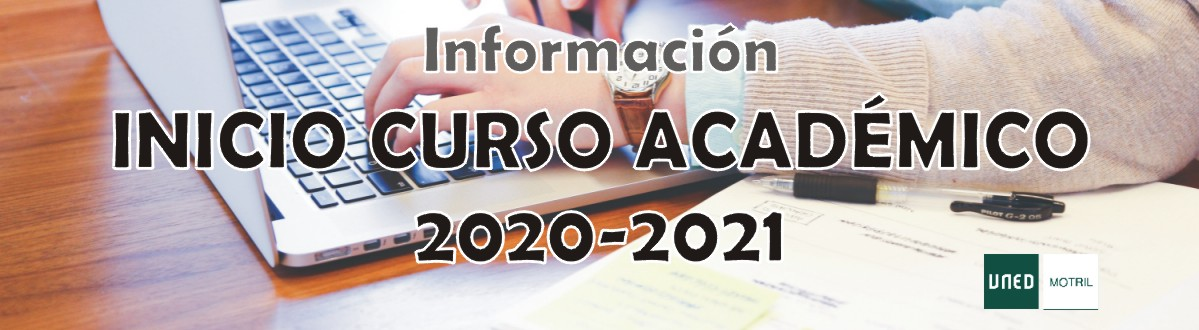 Información – Inicio Curso Académico 2020-2021
