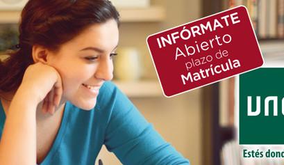 Abierto plazo de matrícula curso 2017/2018 (Hasta el 20 de Octubre)