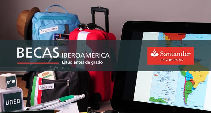 """Programa """"Becas Santander Iberoamérica Grado"""". Convocatoria 2020/2021"""