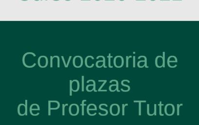 Convocatoria de Plazas de Profesor Tutor para el Centro Asociado de Motril. Curso Académico 2020-21