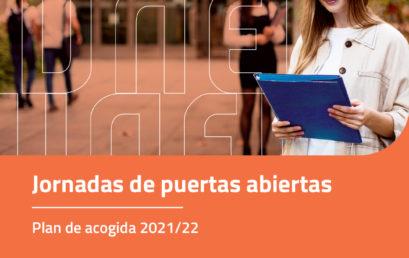 Jornadas de Acogida y Formación 2021/22